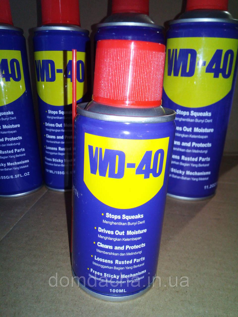 Универсальный аэрозоль (смазка) WD-40 100 мл