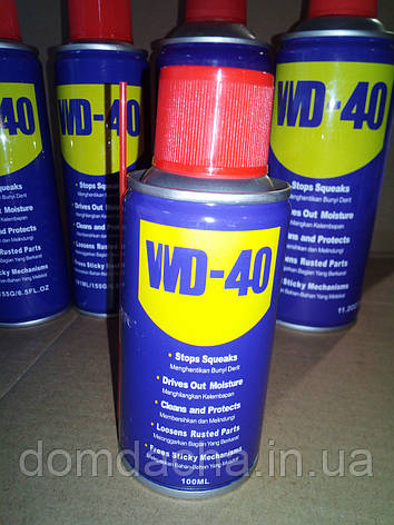Универсальный аэрозоль (смазка) WD-40 100 мл, фото 2