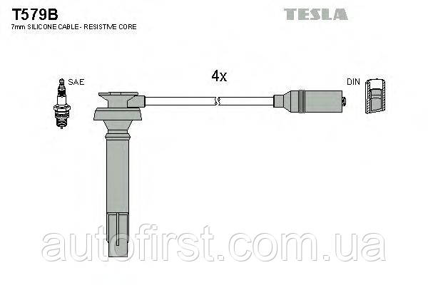 Tesla T579B Высоковольтные провода Subaru