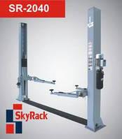 Автомобильный двухстоечный электрогидравлический подъемник (220В/380В) SkyRack SR-2040. Стоимость с доставкой.