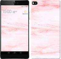 "Чехол на Huawei Ascend P8 розовый мрамор ""3860c-123-328"""