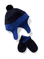 Флисовая шапка и варежки Old Navy для мальчика