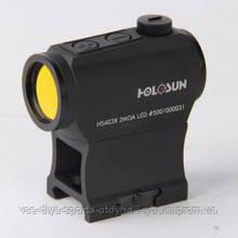 Коллиматорный прицел HOLOSUN Paralow Motion Sensor HS403B