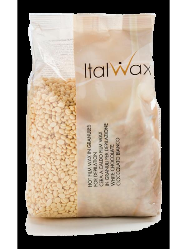 """Горячий воск ItalWax """"Белый шоколад""""  1 кг"""