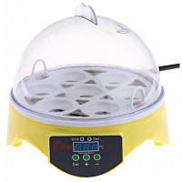 HHD Автоматический цифровой инкубатор для 7 яиц птицы утки курицы Американская вилка