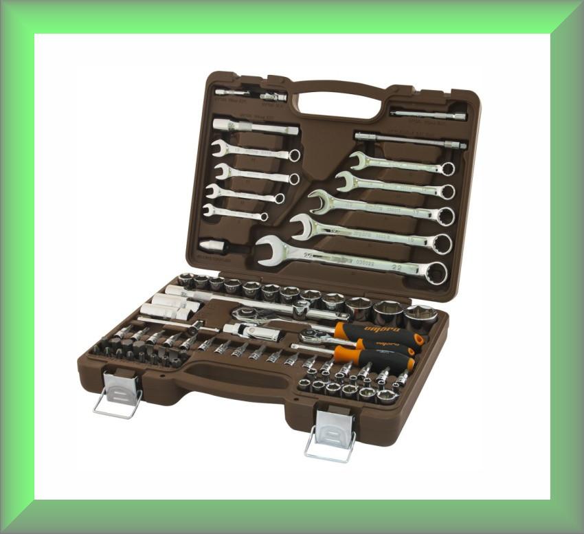 Универсальный набор инструментов OMT82S Ombra (82 предметов)