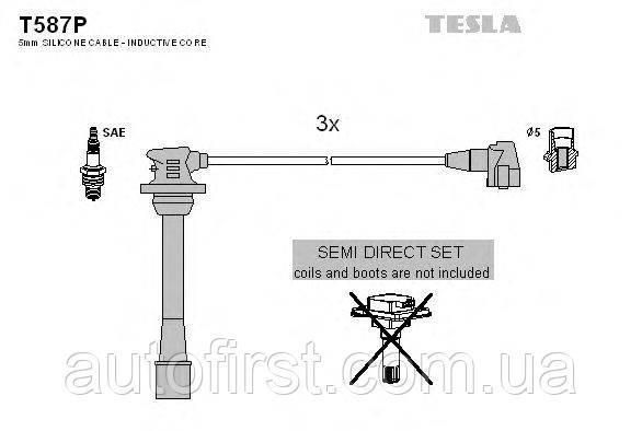 Tesla T587P Високовольтні дроти Toyota