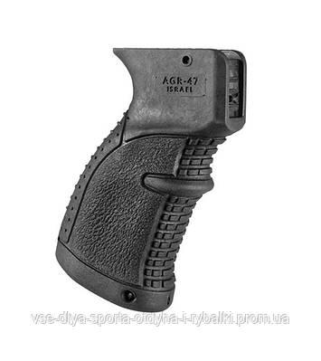 Прорезиненная пистолетная рукоятка FAB DEFENSE для AK-47, 74, сайга AGR-47B