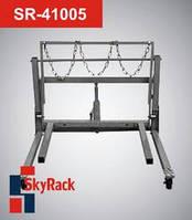 Тележка гидравлическая для перемещения сдвоенных колес SkyRack SR-41005. Стоимость с доставкой.
