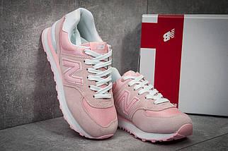 Кроссовки женские New Balance 574, розовые (11734), р. 36-40, фото 3