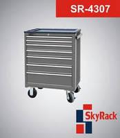 Тележка инструментальная SkyRack SR-4307. Стоимость с доставкой.