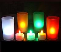 Волшебная светодиодная LED свеча