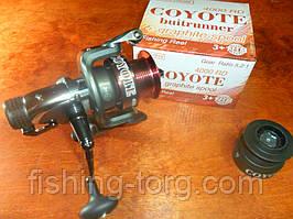Катушка рыболовная coyote 4000rd 3+1bb