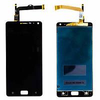 Дисплей для Lenovo Vibe P1(p1a42) with touchscreen black orig (Бесплатная доставка до дверей)