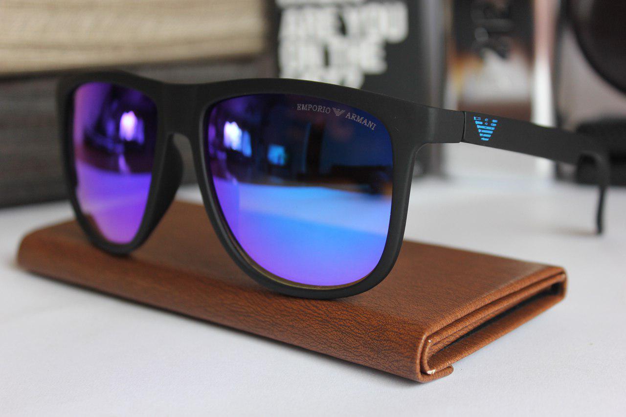 Сонцезахисні окуляри Armani Emporio Armani чорні (репліка)