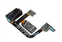 Конектор наушников Samsung S5660, со шлейфом, с динамиком