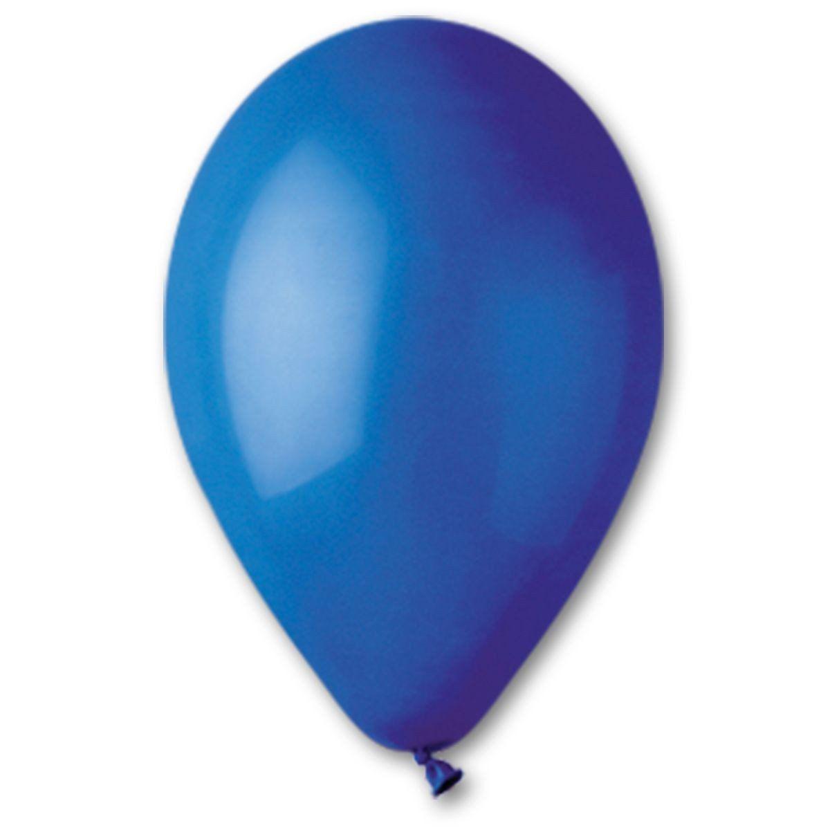 """Шары 12""""/46 пастель синий"""