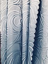Шторы оптом 1.5м голубой В20, фото 2