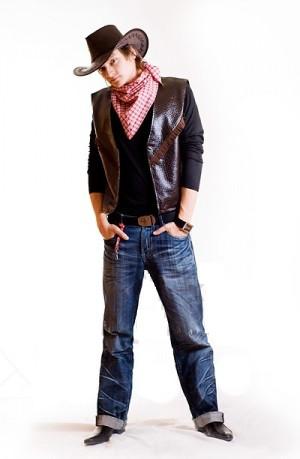 Ковбой (упрощенный) мужской исторический костюм, карнавальный костюм \ размер 48; 50; 52; 54 \ BL - ВМ75