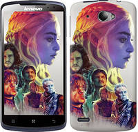 "Чехол на Lenovo S920 Game of thrones art ""2841c-53-10409"""