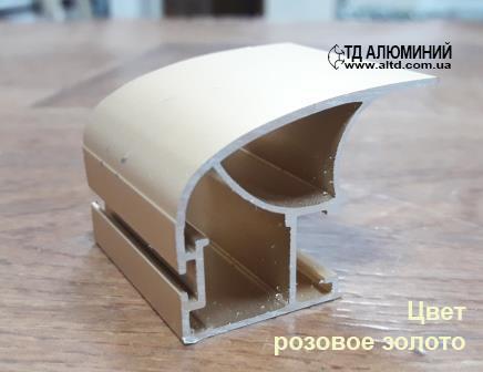 Профиль для шкафа купе | Вертикальная ручка 107
