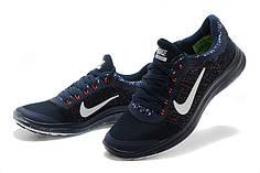 Кроссовки мужские Nike free run 3.0 V6 синие