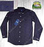 Рубашка темно-синяя ARMANI на мальчика 7-8 лет, фото 5