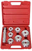 Набор оправок для запрессовки сальников, подшипников, сайлентблоков LICOTA (ATB-1104A)