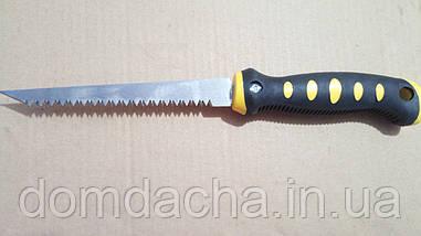 Ножовка по гипсокартону СТАЛЬ 150 мм