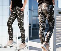 Женские модные брюки камуфляж S-M-L-XL