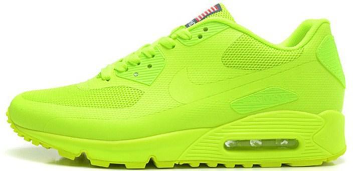 Nike Air Max 90 Hyperfuse Ultragreen Independence Day (USA)   Кроссовки  Женские и Мужские 38 — в Категории