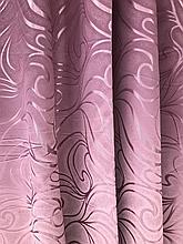 Штори оптом 1.5 м темно-рожевий В20