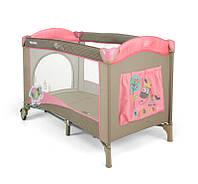 Манеж-кровать Mirage Milly Mally Pink-Cow Mir_04