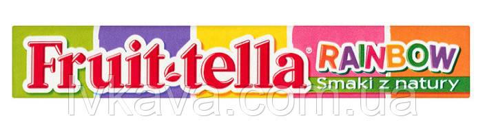 Жевательные конфеты Fruit-tella радуга, 41 гр