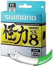 Шнур рыболовный SHIMANO Kairiki PE 0.100 mm, 6,0 kg, 150 m