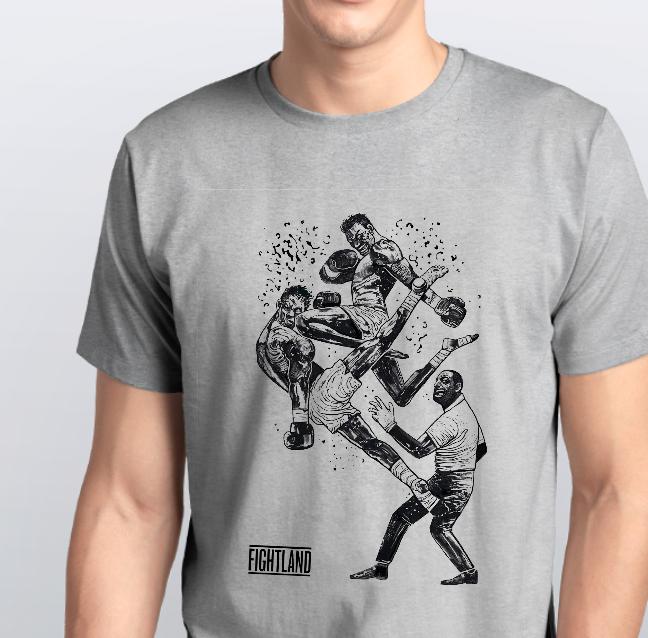 Футболка чоловіча бокс