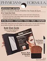 Универсальная палитра Physicians Formula Shimmer Strips All-in-1 Palette for Face & Eyes - Natural Nude, фото 2