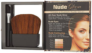 Универсальная палитра Physicians Formula Shimmer Strips All-in-1 Palette for Face & Eyes - Natural Nude, фото 3