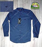 Нарядная рубашка ARMANI синяя для мальчика