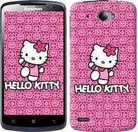 "Чехол на Lenovo S920 Hello kitty. Pink lace ""680c-53-10409"""