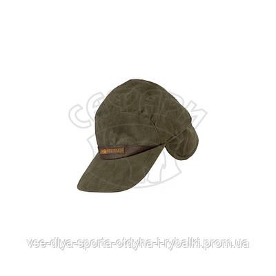 Теплая зимняя кепка HILLMAN зеленая