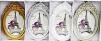 Фоторамка 1460 13x18 1 фото бел/шампань/золото/серебро, фото 1