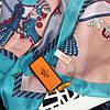 Палантин шарф шелковый Hermes (Гермес) топ модель