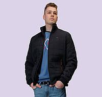 Демисезонная мужская куртка. Модель 155. Размеры 48-64 Синий, 54