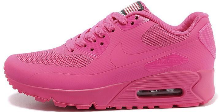 Nike Air Max 90 Hyperfuse Pink USA   Кроссовки Женские Розовые — в ... 2f324cd9127