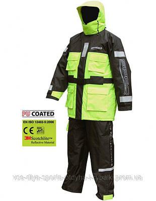 Костюм плавающий Spro Floatation Suit Black & Yellow