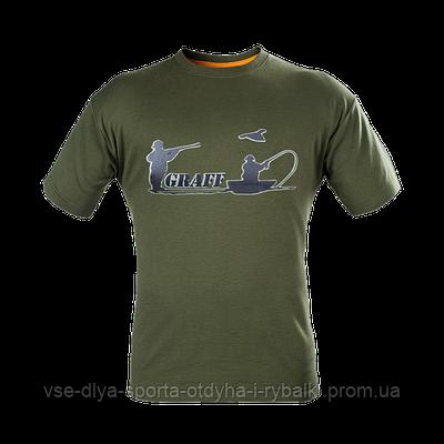 Футболка GRAFF T-shirt - оливковый