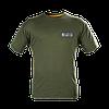 Футболка GRAFF T-shirt - оливковый с эластичной резинкой под шеей