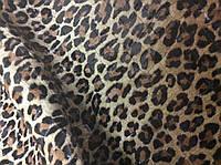 Натуральная Кожа с лакированной поверхностью Леопард