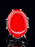 Кольцо Коралл (серебро)